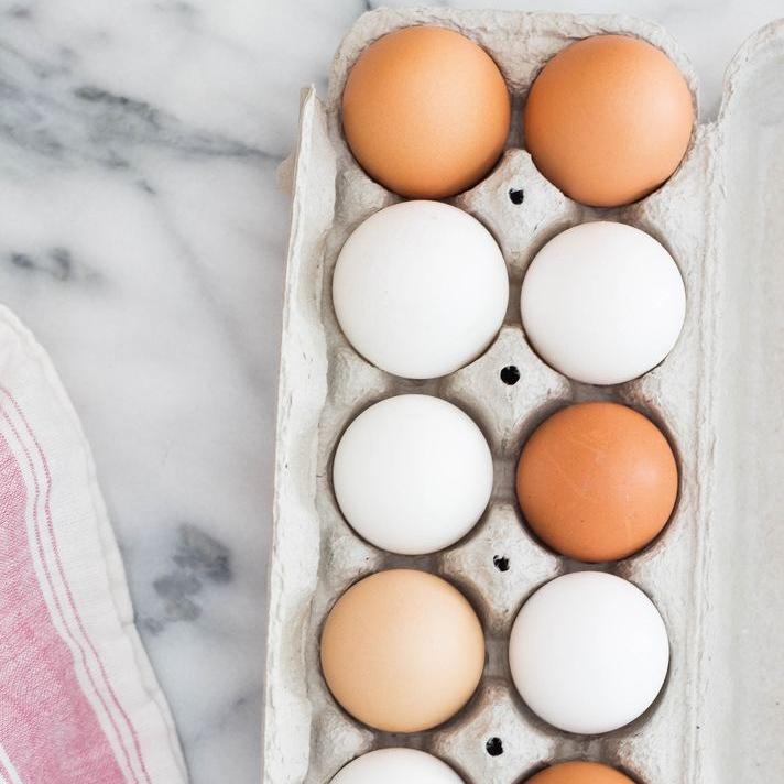 Proteine aus Eiern
