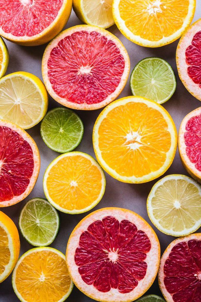 Vitamin C aus Zitrus